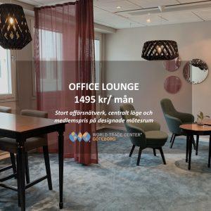 Office Lounge på kontorshotellet World Trade Center Göteborg