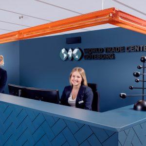 Reception World Trade Center Göteborg