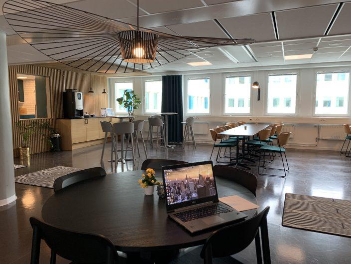 Lounge på World Trade Center Göteborg