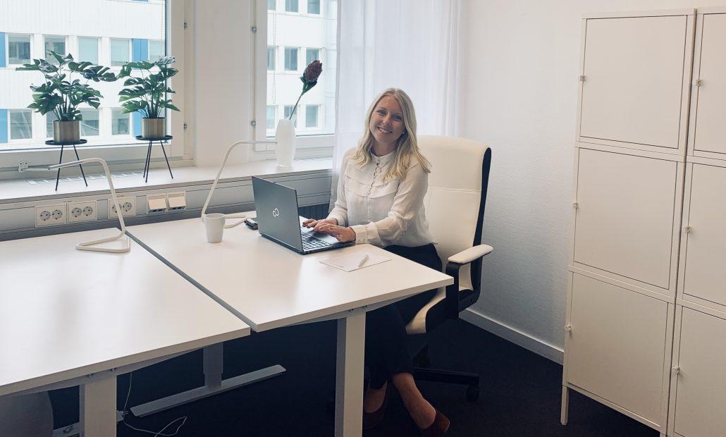 Skrivbordsplats coworking Göteborg